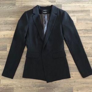 RW & Co black blazer size 2